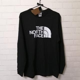 ザノースフェイス(THE NORTH FACE)の【新品】THE NORTH FACE M L/S HALF DOME M 黒(Tシャツ/カットソー(七分/長袖))