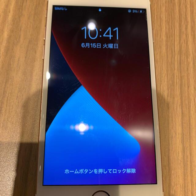 iPhone(アイフォーン)のiPhone6s 64G スマホ/家電/カメラのスマートフォン/携帯電話(スマートフォン本体)の商品写真