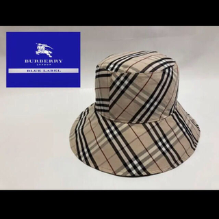 BURBERRY BLUE LABEL - BURBERRY BLUE LABEL リバーシブルハット ノバチェック