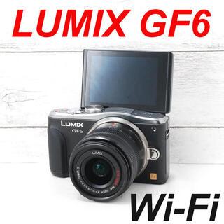 パナソニック(Panasonic)の❤️Wi-Fi機能搭載❤️自撮り❤️LUMIX GF6(ミラーレス一眼)