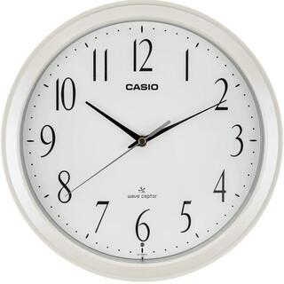 カシオ(CASIO)のCASIO(カシオ) 掛け時計 電波  夜間秒針停止 IQ-1060J-7JF(置時計)