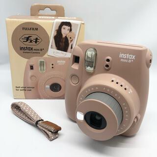 フジフイルム(富士フイルム)のFUJIFILM インスタントカメラ チェキ instax mini8+ ココア(フィルムカメラ)