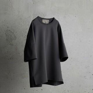アタッチメント(ATTACHIMENT)のWYM attachment コラボ tシャツ ダークグレーS(Tシャツ/カットソー(半袖/袖なし))