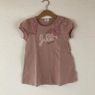 ジルスチュアートニューヨーク(JILLSTUART NEWYORK)の♡ジルスチュアートNY♡肩リボンAライントップス 120(Tシャツ/カットソー)