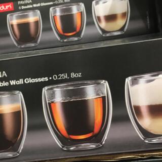 ボダム(bodum)のボダム 4個(グラス/カップ)