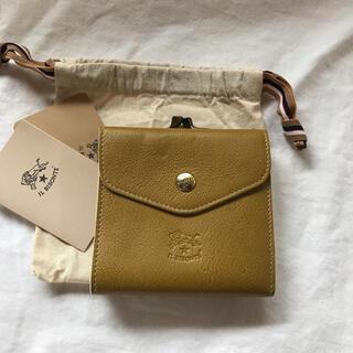 イルビゾンテ(IL BISONTE)の新品 イルビゾンテ 限定色 オリーブドラブ がま口 財布(財布)