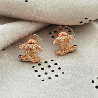 CHANEL - CHANEL 0011 pierce pinkgold