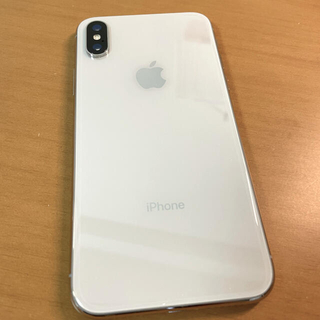 アップル(Apple)の【美品】Apple iPhoneX 64GB 本体のみ(スマートフォン本体)