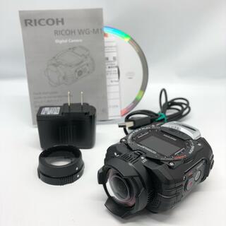 リコー(RICOH)のRICOH 防水アクションカメラ WG-M1 ブラック WG-M1 BK(コンパクトデジタルカメラ)