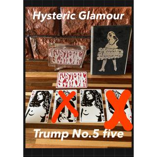ヒステリックグラマー(HYSTERIC GLAMOUR)のHysteric Glamour Trump 1枚⬛︎No.5 (その他)