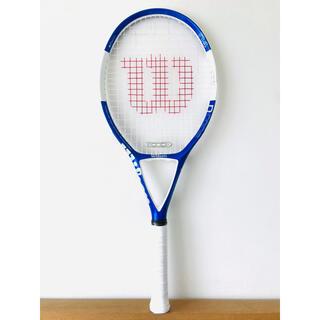 新品同様/ウィルソン『NコードN4/NCODE』テニスラケット/ブルー&ホワイト