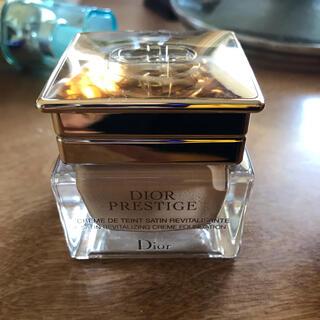 Dior -  ディオール プレステージ サテン クリーム ファンデーション