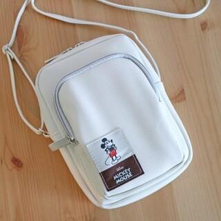 付録 ミッキーマウス スマホも長財布も入るミニショルダーバッグ