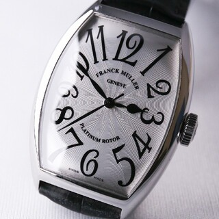 FRANCK MULLER - 美品! FRANK MULLER 5850SC 自動巻き メンズ腕時計