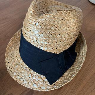 トゥモローランド(TOMORROWLAND)のカテリーナベルティーニ 帽子 ハット 麦わら レディース(麦わら帽子/ストローハット)