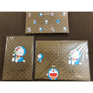グッチ(Gucci)のドラえもん×グッチ 雑誌付録 3種類セット(ノート/メモ帳/ふせん)