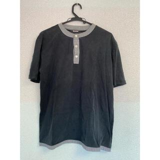 ジョンブル(JOHNBULL)の送料込み john bull Mサイズ メンズ ポロTシャツ 黒(Tシャツ/カットソー(半袖/袖なし))