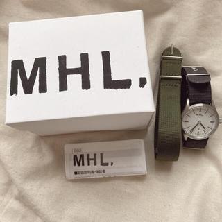 マーガレットハウエル(MARGARET HOWELL)のMHL. ミリタリーウォッチ 腕時計(腕時計)