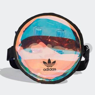 adidas - 超美品 adidas ラウンドウエストバッグ オリジナルス クリアバッグ PVC