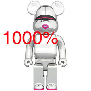 メディコムトイ(MEDICOM TOY)のBE@RBRICK SORAYAMA x 2G SILVER Ver.1000%(フィギュア)