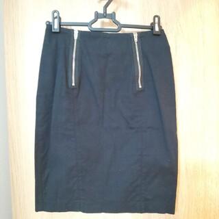 エイチアンドエム(H&M)のH&M デザインタイトスカート(ひざ丈スカート)