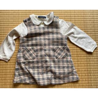 バーバリー(BURBERRY)のバーバリー サイズ90 長袖とワンピース(ワンピース)