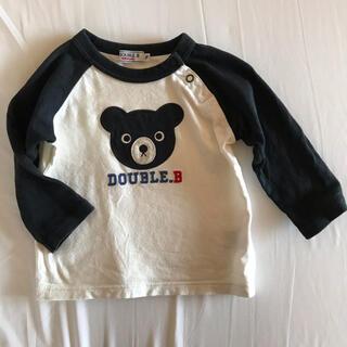 ダブルビー(DOUBLE.B)のミキハウス ダブルB 長袖Tシャツ ロンT 70.80(Tシャツ)