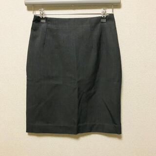 エイチアンドエム(H&M)のH&M エイチアンドエム ダークグレー 灰色 スーツ スカート(ひざ丈スカート)