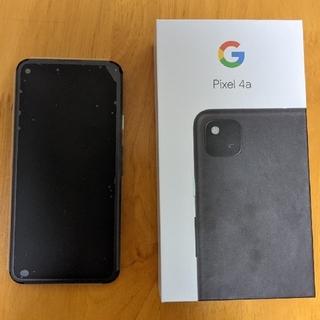 Google - Google Pixel 4a 128GB Just Black ①