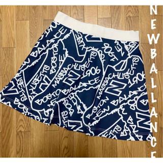 New Balance - 美品⛳️ニューバランスゴルフ 総柄 シューズ柄 フレアスカート