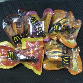 マクドナルド(マクドナルド)のマクドナルド/マグネット5個セット(ノベルティグッズ)