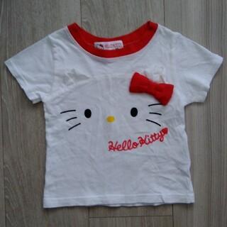 サンリオ(サンリオ)のハローキティ りぼん Tシャツ 80(Tシャツ)