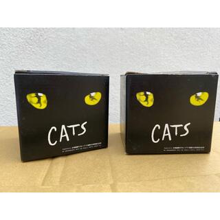 劇団四季 北海道銀行 CATS マグカップ 2個セット