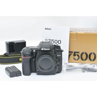 Nikon - ニコン Nikon D7500 デジタル一眼レフカメラ ボディ 付属品 元箱付