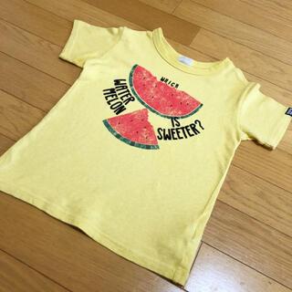 BREEZE - ブリーズ 黄色 スイカ柄 Tシャツ