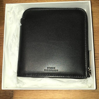 ワンエルディーケーセレクト(1LDK SELECT)のStudio Nicholson レザー財布 ユニセックス(折り財布)