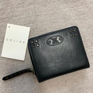 セリーヌ(celine)のオールド セリーヌ  ミニ 財布 二つ折り 未使用(財布)