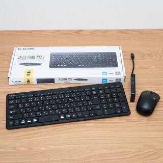ELECOM - 美品 ワイヤレス キーボード マウス USB-Cハブ セット