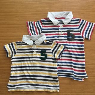 シップスキッズ(SHIPS KIDS)のSHIPS 半袖 シャツ おそろい 80 100 綿100%(Tシャツ/カットソー)