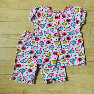 ダブルビー(DOUBLE.B)のミキハウス ダブルB 女の子 半袖パジャマ 100(パジャマ)
