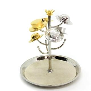 ミキモト(MIKIMOTO)のミキモト リングトレー ジュエリートレー 真珠 帽子 ゴールド色 シルバー色(その他)