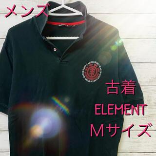 エレメント(ELEMENT)のメンズ ELEMENT エレメント ポロシャツ 半袖 M(ポロシャツ)