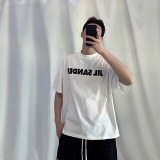 Jil Sander - ジルサンダー21ss jil sander メンズ オーバーサイズ Tシャツ