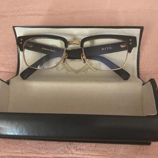DITA - DITAstatesmanディータステイツマン52ブラックxゴールド美品眼鏡