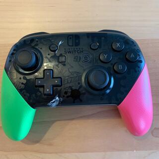 ニンテンドースイッチ(Nintendo Switch)の【S.Y様専用】Nintendo Switchプロコン スプラ2エディション(その他)