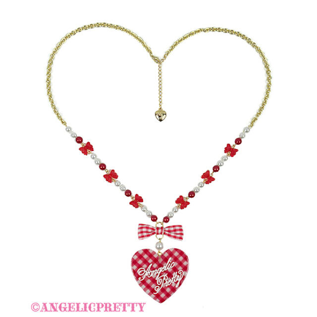 Angelic Pretty(アンジェリックプリティー)のLovelyギンガム 2点セット レディースのアクセサリー(リング(指輪))の商品写真