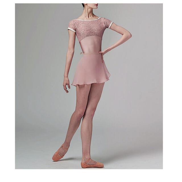 OLIVINE WEAR バレエ レオタード ピンク スポーツ/アウトドアのスポーツ/アウトドア その他(ダンス/バレエ)の商品写真