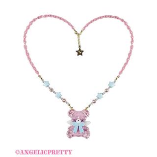 Angelic Pretty - Milkyベアー 2点セット ピンク 初回分