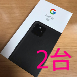 Google Pixel - Google Pixel4a (5G) Black 128GB 本体