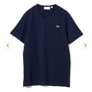 LACOSTE - 【ラコステ☆メンズ】ベーシック Vネック Tシャツ